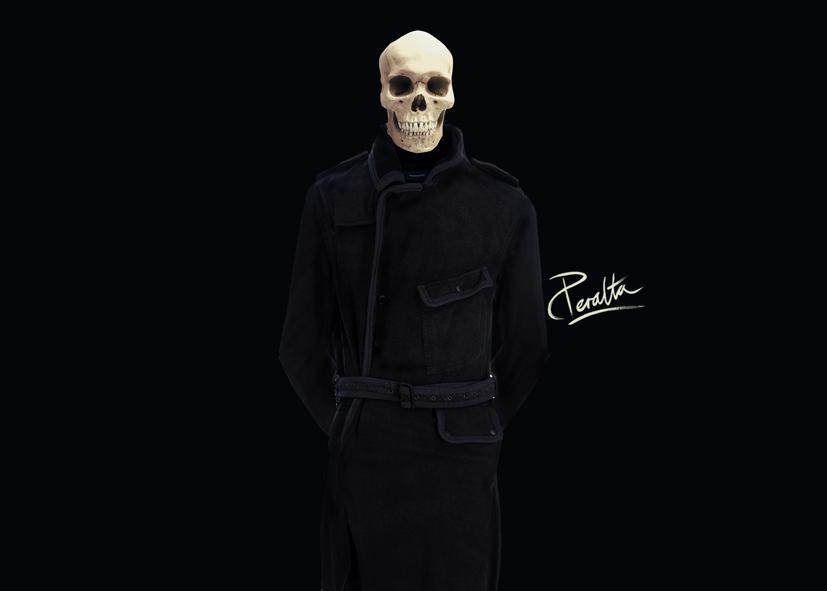 Jinete del Apocalipsis artista Miguel Peralta