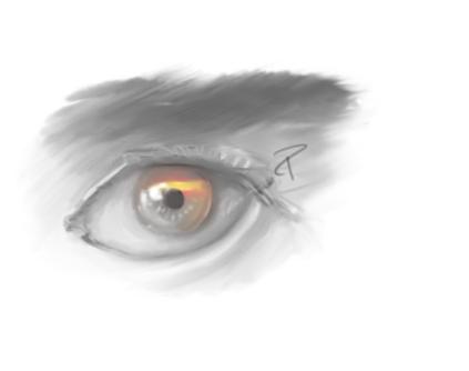 Peralta ojo español
